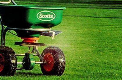 Lawn Fertiliser Applications